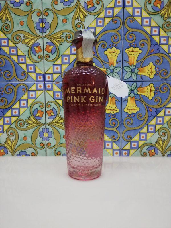 Gin Mermaid Pink Gin Small Batch vol 38% cl 70