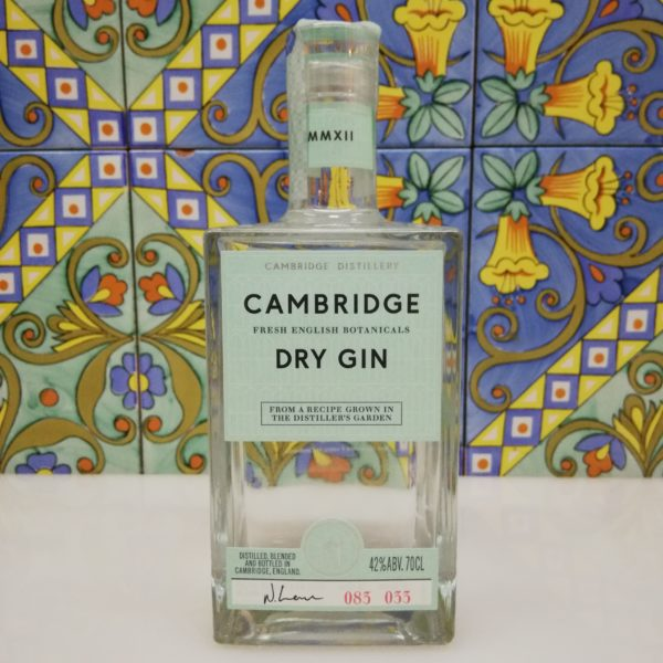 Gin Cambridge Fresh English Botanicals vol 42% cl 70 – London Dry Gin