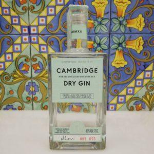 Gin Cambridge Fresh English Botanicals vol 42% cl 70 – London Dry Gin