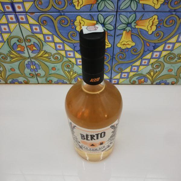 Gin Berto Il Gatto Nero Che Stupisce vol 43% cl 70 – Old Tom Gin