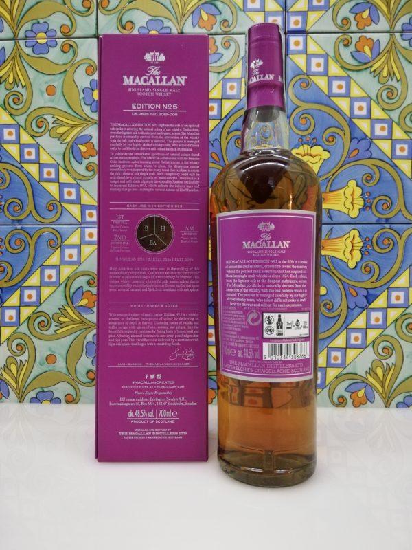 The Macallan Edition N 5 – Highland Single Malt Scotch Whisky  vol 48,5 % 70cl
