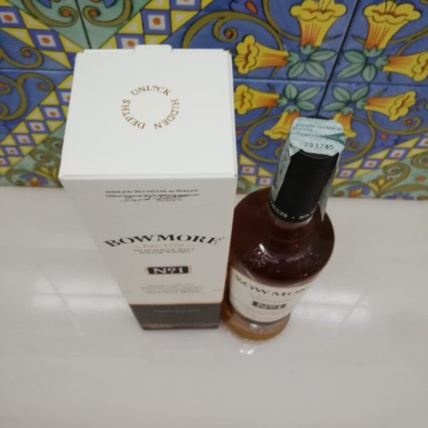 Whisky Bowmore N° 1 Islay Single Malt Scotch cl 70 vol 40%