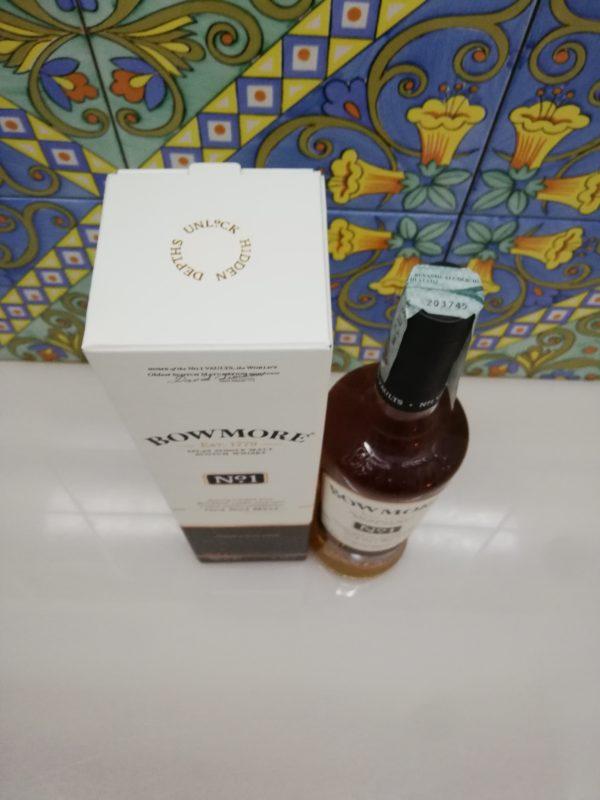 Whisky Bowmore N° 1 Islay Single Malt Scotch cl 70 vol 40%