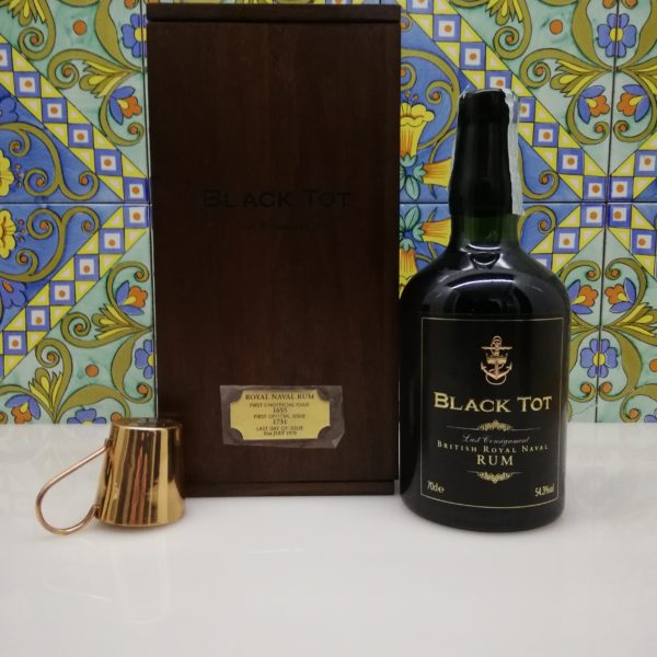"Rum British Royal Naval ""Black Tot Last Consignment"" – cl 70 vol 54.3%"