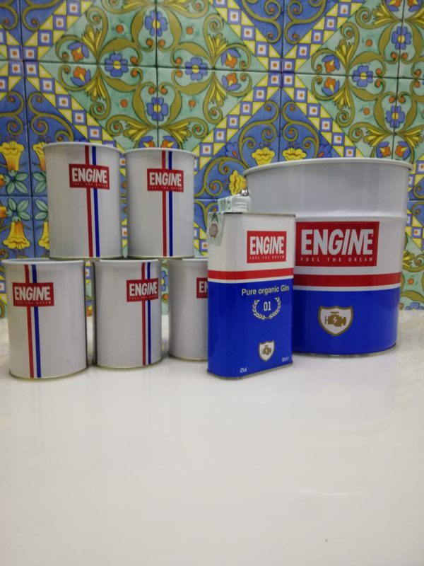Gin Engine Gin Box cl 50 vol 42