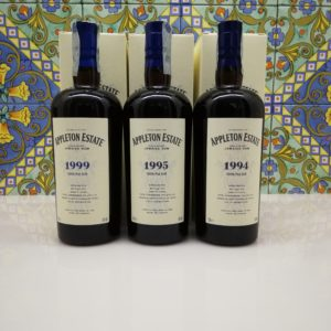 Rum Appleton Estate Hearts Collection 1994 – 1995- 1999 Vol.63% Cl70