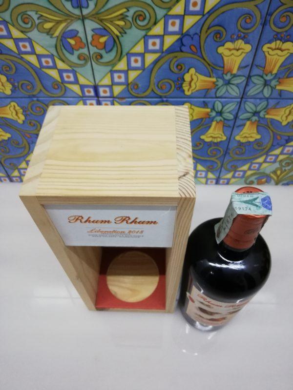 Rum Rhum Liberation 2015 Version Integrale Vol.58,4% cl.70 Wood Box