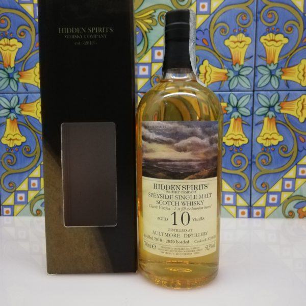 Whisky Aultmore 10 y.o. 2010-2020 Speyside Single Malt cl 70 vol 51.3%