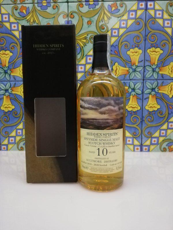 Whisky Aultmore 10 y.o. 2010-2020 Speyside Single Malt cl 70 vol 51.3%