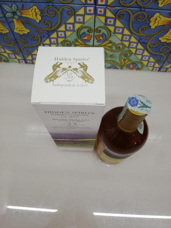 Whisky Glentauchers 23 y.o. Speyside Single Malt 1996 Hidden Spirits cl 70 vol 50.8%