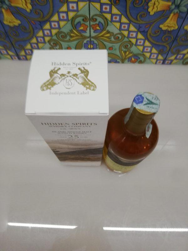 Whisky Tobermory 25y.o. Single Malt distilled 1995 Hidden Spirits cl70 vol 50.2%