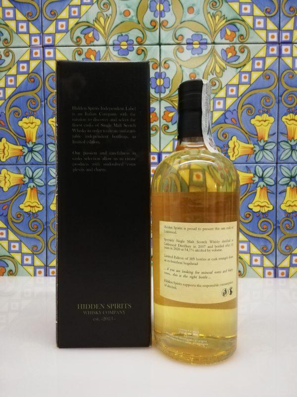 Whisky Linkwood 13 y.o. 2007-2020 Speyside Single Malt Hidden Spirits vol 54,1% cl 70