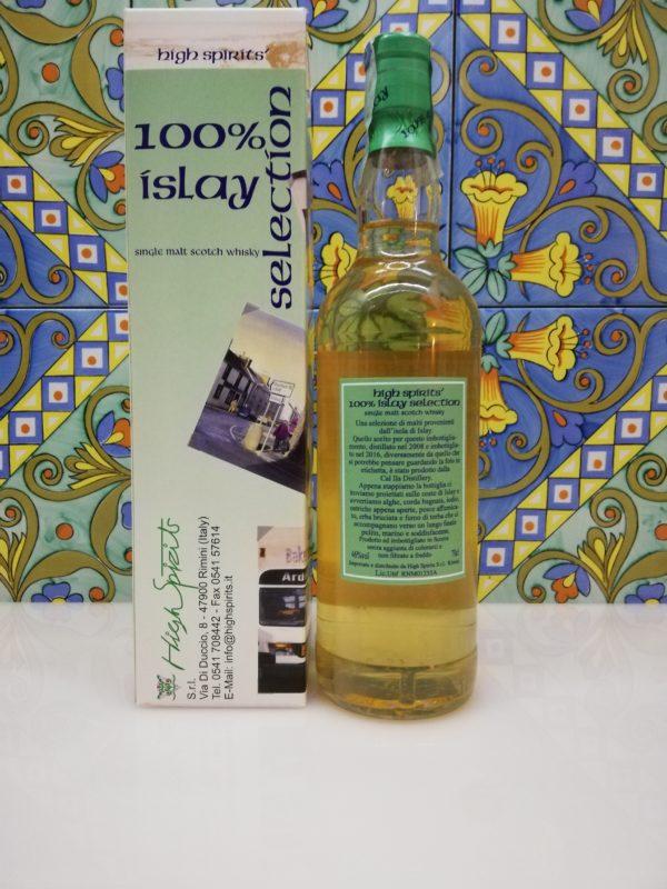 Whisky Caol Ila 100% Islay 2008 High Spirits Selection cl 70 vol 46%