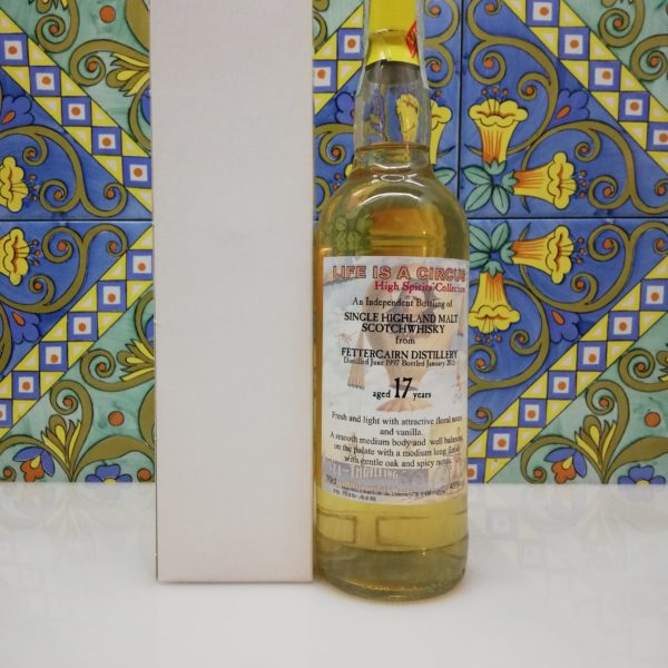 Whisky Fettercairn 1997 Life is a Circus 17 y.o. High Spirits vol 46% cl 70