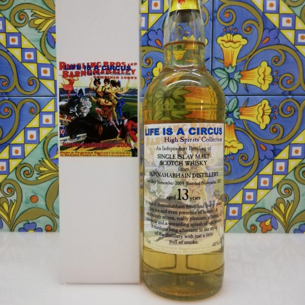 Whisky Bunnahabhain 2004 Life is a Circus 13 y.o. High Spirits vol 46% cl 70