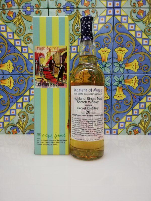 Whisky Clynelish 2000 Masters of Magic 20 y.o. High Spirits vol 46% cl 70