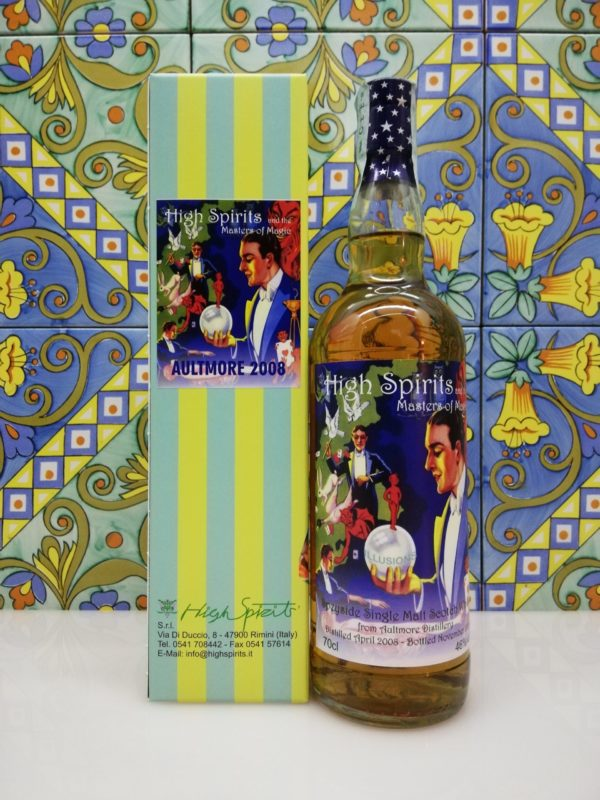 Whisky Aultmore 2008 Masters of Magic 11 y.o. High Spirits vol 46% cl 70