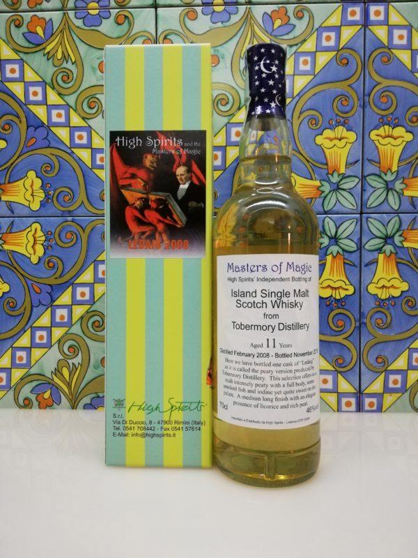 Whisky Ledaig 2008 Masters of Magic 11 y.o. High Spirits vol 46% cl 70