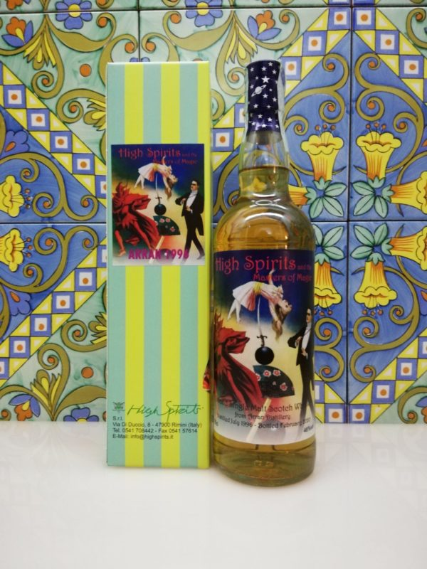 Whisky Arran 1996 Masters of Magic 23 y.o. High Spirits vol 46% cl 70