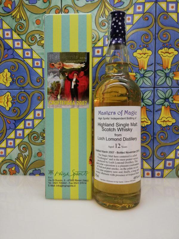 Whisky Croftengea 2007 Masters of Magic 12 y.o. High Spirits vol 46% cl 70