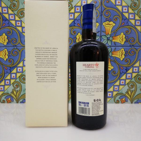 Rum Appleton Estate Hearts Collection 1999 vol 63% cl 70