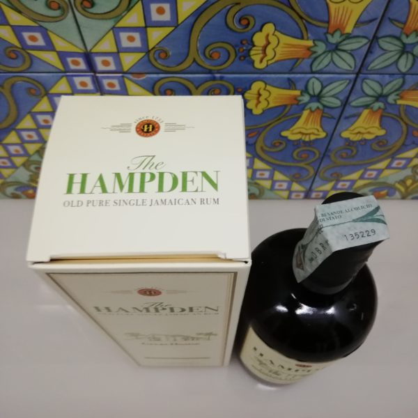 Rum Hampden Estate The Great House Release 2020 cl 70 vol 59%