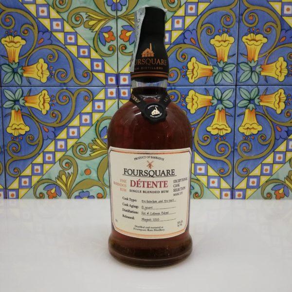 Rum Foursquare Dètente Edition 2020 vol 51% cl 70