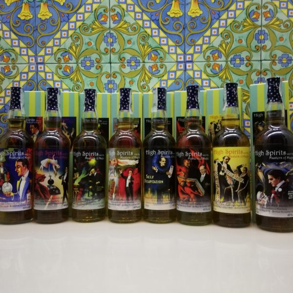 Serie Completa Masters Of Magic / High Spirits 8 x 70 cl