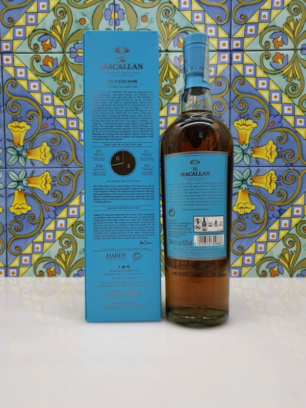Whisky The Macallan Edition N° 6 Single Malt cl 70 vol 48.6%