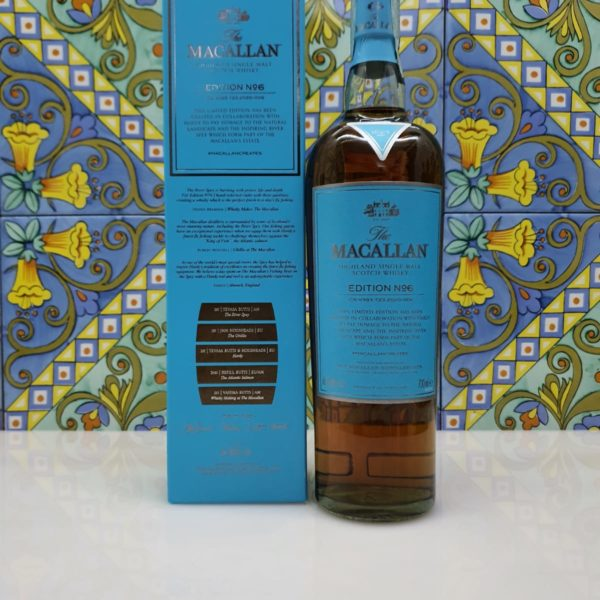 Whisky The Macallan Edition N° 6 Single Malt cl 70 vol 48.6%
