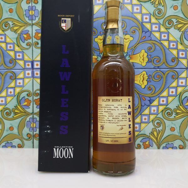 Whisky Moon Import Glen Moray Lawless 2008 Single Cask cl 70 vol 45%
