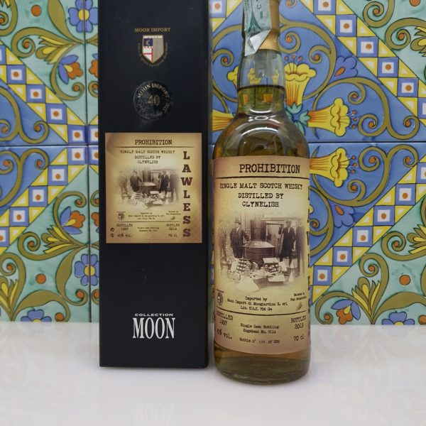 Whisky Moon Import Lawless -Caol Ila -Glen Moray- Clynelish 3x 70 cl vol 45%