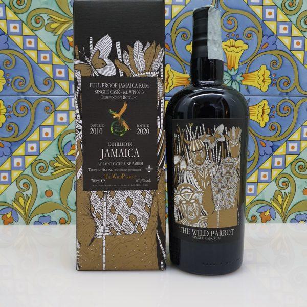 Rum Jamaica AT Saint Catherine Parish 2010 The Wild Parrot cl 70 vol 61.3%