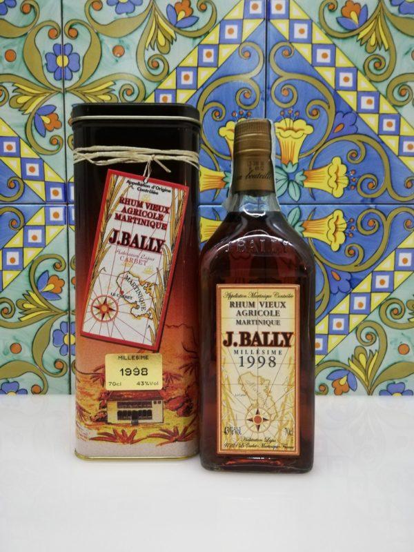 Rum Rhum J.Bally 1998  Vol.43%  cl 70 Agricole Martinique