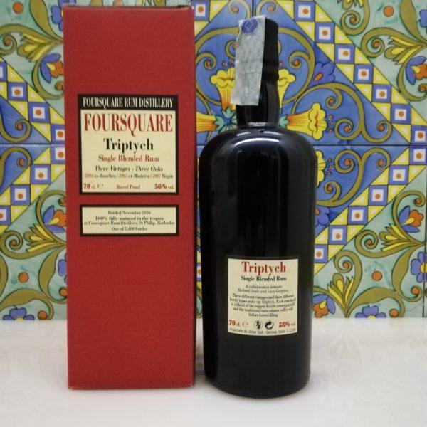 Rum Foursquare Triptych Vol.56% cl.70 Velier