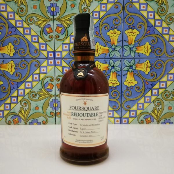 Rum Foursquare Redoutable 14 y.o. release 2020 cl 70 vol 61%