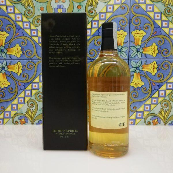 Whisky Benriach 10 y.o. 2010-2020 Speyside Single Malt Hidden Spirits vol 52,2% cl 70