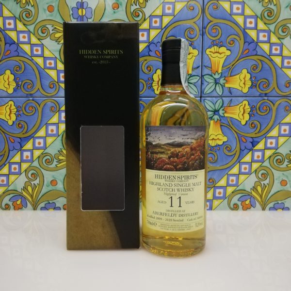 Whisky Aberfeldy 11 y.o. 2009-2020 Highland Single Malt Hidden Spirits vol 53.3% cl 70