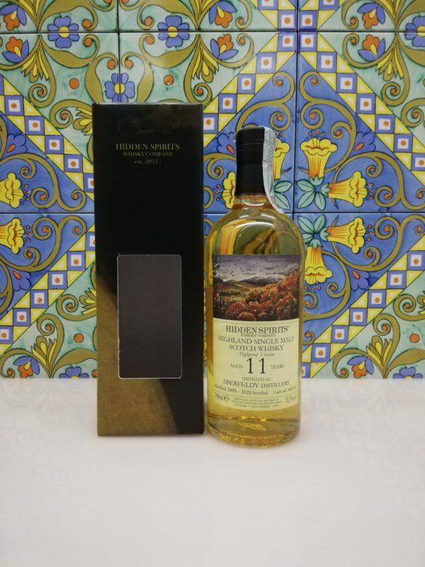 Whisky Aberfeldy 11 y.o. 2009-2020 Highland Single Malt Hidden Spirits vol 53.3% cl 70