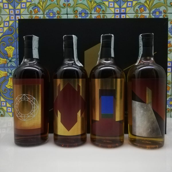 "Whisky Collective "" The Seekers"" 2020 Hidden Spirits 4 x 70 cl"