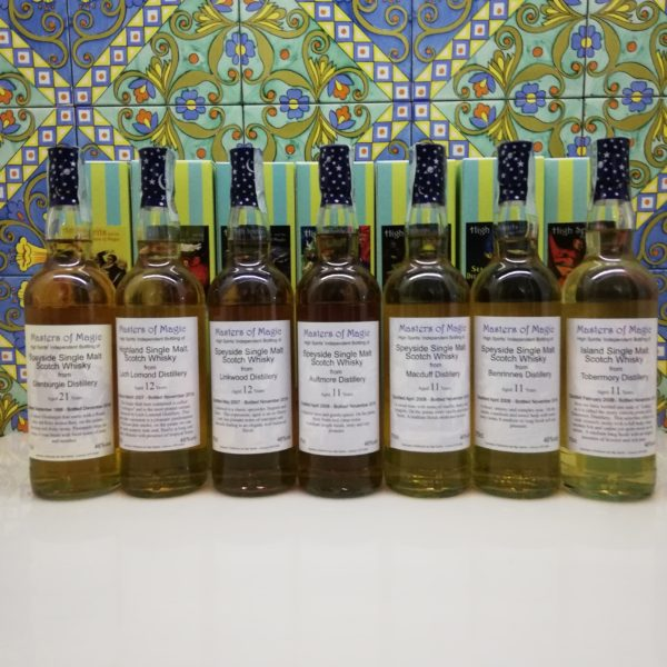 Whisky Release  Masters Of Magic / High Spirits 6x 70 cl