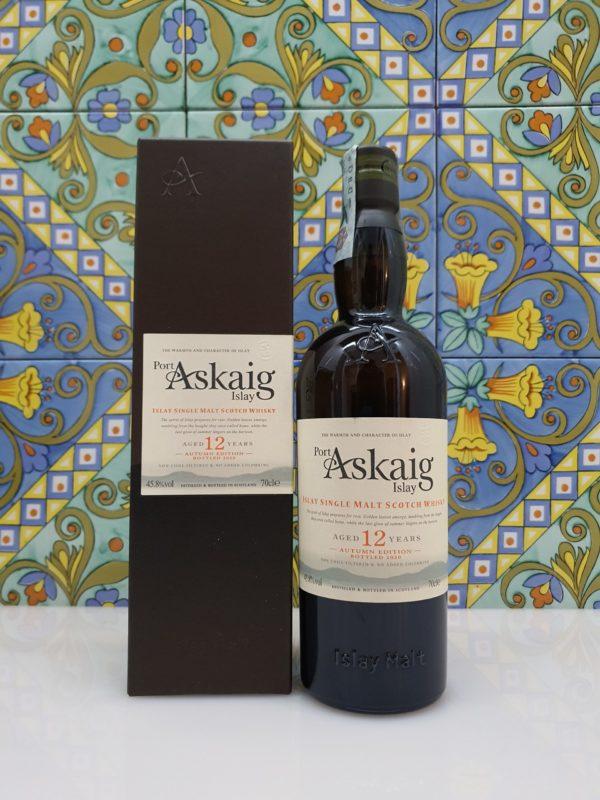 Whisky Port Askaig Islay Single Malt 12 y.o. Autumn Edition vol 45.8% cl 70
