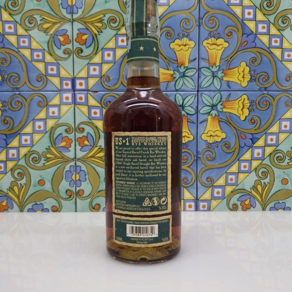 Whiskey Micther's Toasted Barrel Finish Kentucky Straight Rye 2020 vol 53.9% cl 70