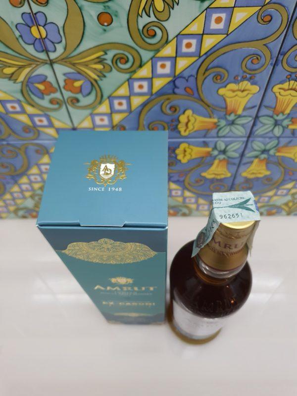 Whisky Amrut 2014 Single Cask Ex-Caroni vol 60% cl 70