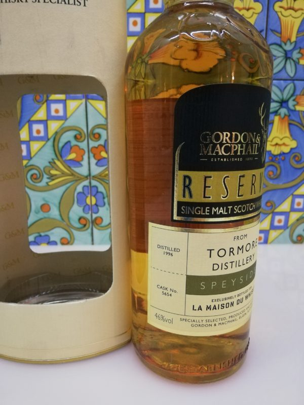 Whisky Tormore 1996 Reserve Speyside LMDW vol 46 cl 70
