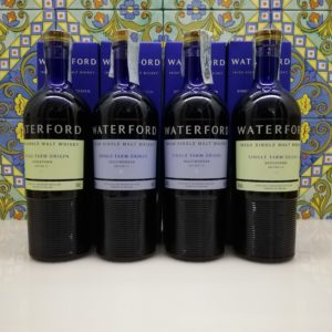 Whisky Waterford First and Second Release- Sheestown & Ballymorgan- 4 x 70 cl