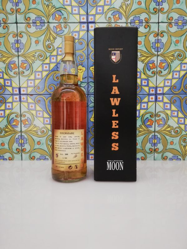"""Whisky Moon Import 35° Anniversary Springbank """"Lawless"""" Distilled 1993 -cl 70 vol 45%"""