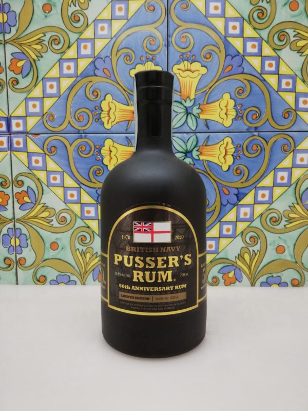 Rum Pusser's 50th Anniversary Limited Edition Vol.54,5% Cl.70