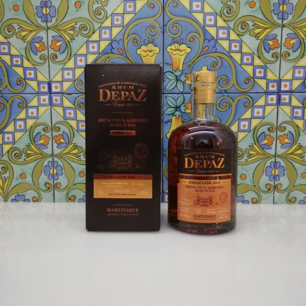Rum Rhum Depaz 2003 Single Cask vol 45 cl 70