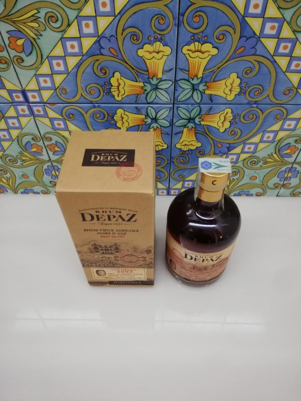 Rum Rhum Depaz 2002 Cask Strength vol 61.6 cl 70